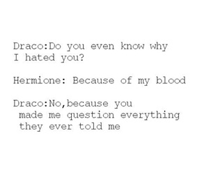 harrypotter, dramione, and dracomalfoy image