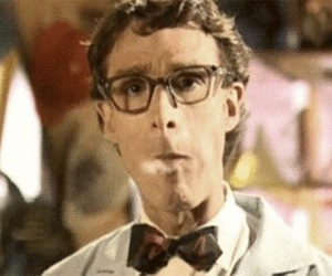aesthetic, bill nye the science guy, and cigarettes image