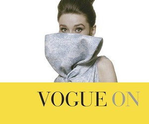 audrey hepburn, hubert de givenchy, and vogue on image