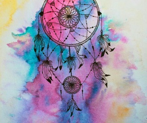 dreamcatcher, colors, and Dream image