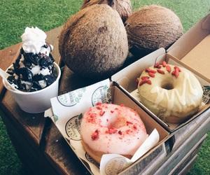 doughnut, eat, and food image