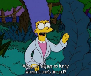 funny, simpsons, and quotes image