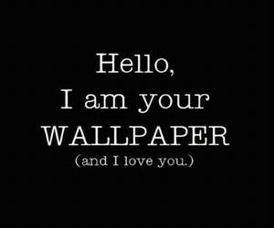 wallpaper, hello, and black image