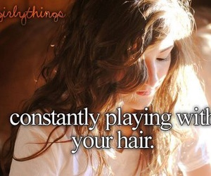 hair, me, and just girly things image
