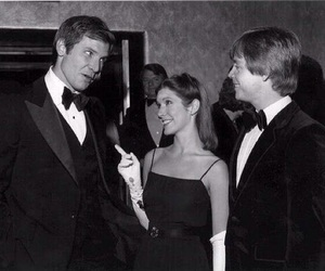carrie fisher, star wars, and harrison ford image