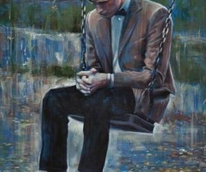 doctor who, sad, and art image