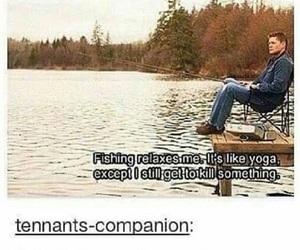 funny, Jensen Ackles, and supernatural image