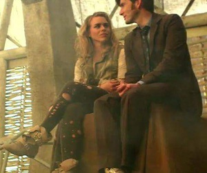 david tennant, bad wolf, and billie piper image