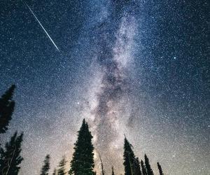 stars, nature, and galaxy image