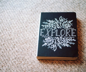 book, explore, and indie image