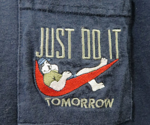 nike, Just Do It, and funny image