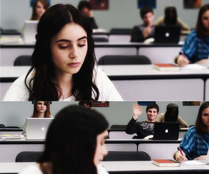 lily collins, stuck in love, and logan lerman image