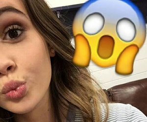 bea miller and snapchat image