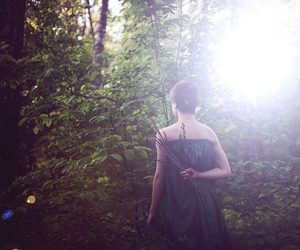 green, model, and nature image