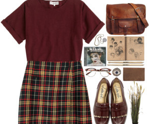 fall, hipster, and Polyvore image