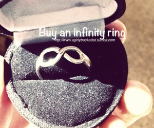 ring, infinity, and forever image