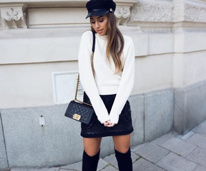 brunette, chanel, and fashion image