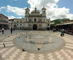architecture, honduras, and blue sky image