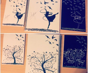 art, beauty, and birds image