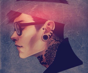 boy, Hot, and hipster image