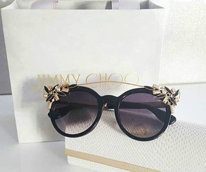 fashion, Jimmy Choo, and sunglasses image