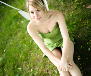 character, tinkerbell, and cosplay image