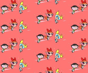 background, powerpuff girls, and iphone wallpaper image