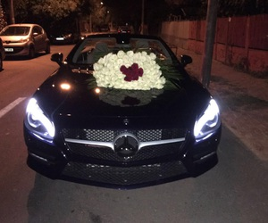 mercedes and roses image