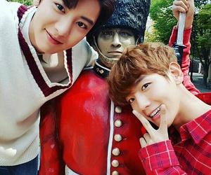 park chanyeol, byun baekhyun, and baekyeol image