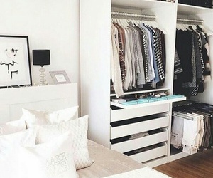 bedroom, wardrobe, and home image