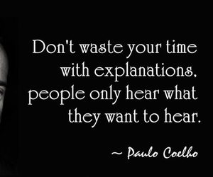 quote, people, and hear image