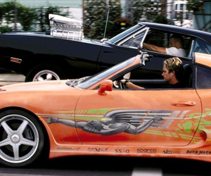 paul walker, Vin Diesel, and car image