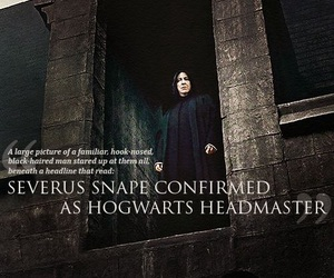 snape and harry potter image