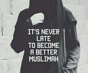 müslimah, islam, and quotes image