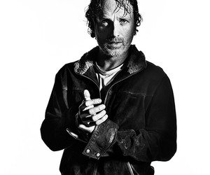 twd, the walking dead, and rick grimes image