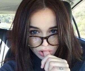 girl, glasses, and acacia brinley image