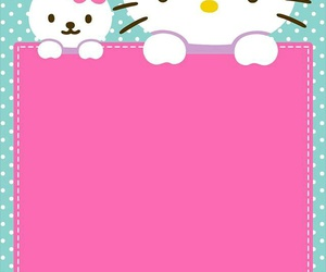 background, hello kitty, and HelloKitty image