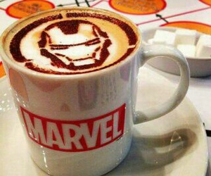 coffee and Marvel image