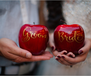 poison, red, and wedding image
