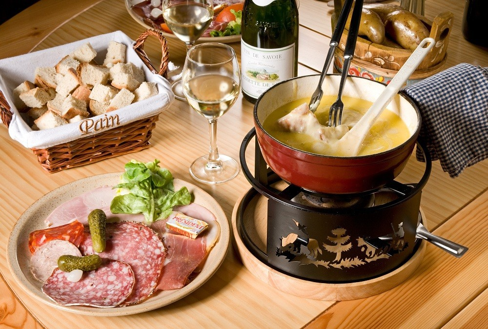 cheese, fondue, and delicious image