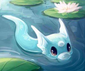 dratini, pokemon, and cute image