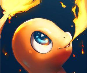pokemon, fire, and charmander image