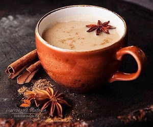 autumn, coffee, and Cinnamon image