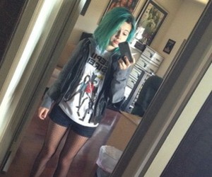 bea miller, blue hair, and beatrice miller image