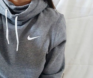 nike, fashion, and grey image