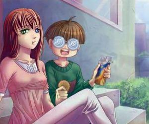 anime girl, ken, and sucrette image