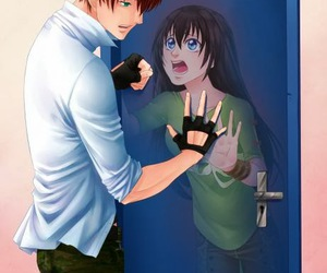 anime girl, sucrette, and anime boy image