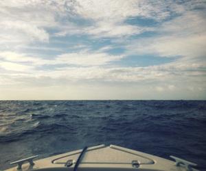 boat, coast, and sea image