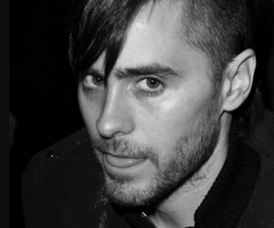 black and white, hair cut, and perfection image