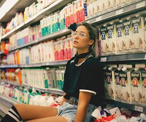grocery and milk image